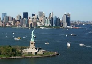 New York Skyline Freiheitsstatue