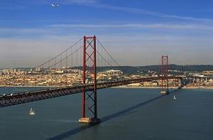 Lissabon 25. April Brücke