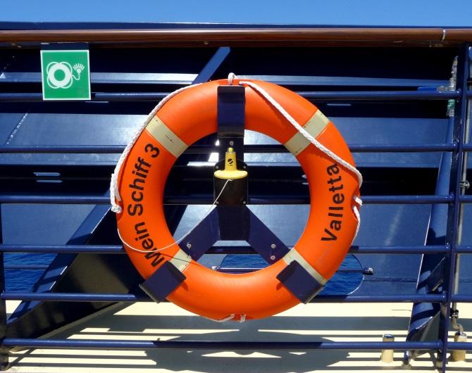 Mein Schiff 3 Rettungsring