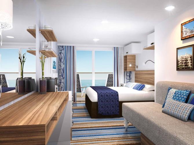 Außenkabine Mein Schiff 3 TUI Cruises
