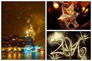 Weihnachten und Silvester an Bord