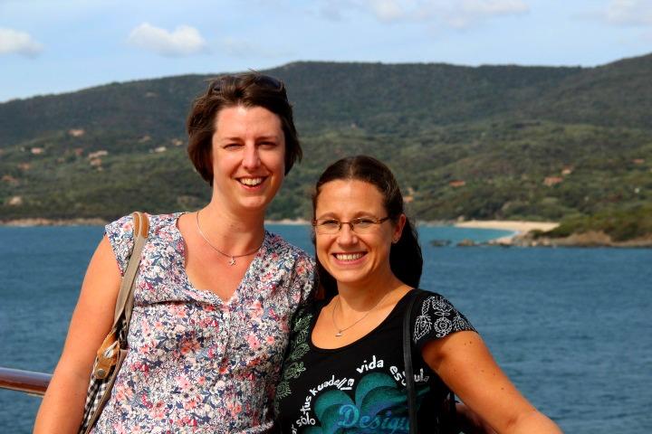 Alex und Caro vor Korsika