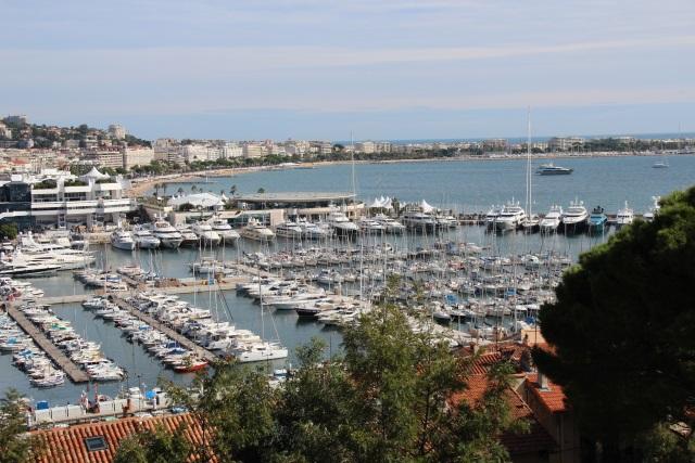 Cannes, Blick auf den Alten Hafen