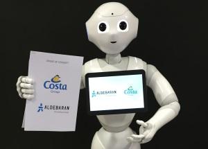 """Costa führt emotionalen Roboter """"Pepper"""" in der Gästebetreuung ein"""