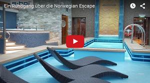 e-hoi zu Gast auf der neuen Norwegian Escape