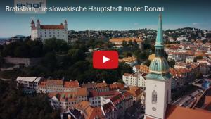 Bratislava - Reise auf der Donau