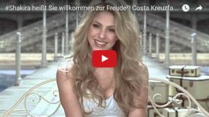 Costa-Markenbotschafterin Shakira