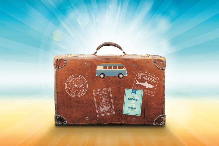 Clever Koffer packen für den Urlaub
