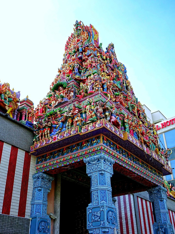 Little India - Sri Veeramakaliamman Tempel