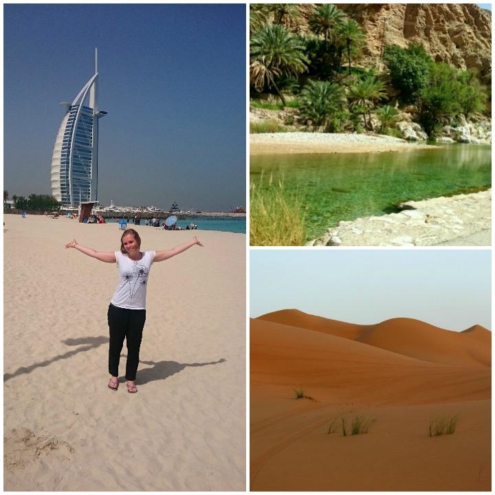 Wiebke in Dubai, Oman und Bahrain