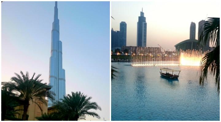 Burj Khalifa und Wasserspiele