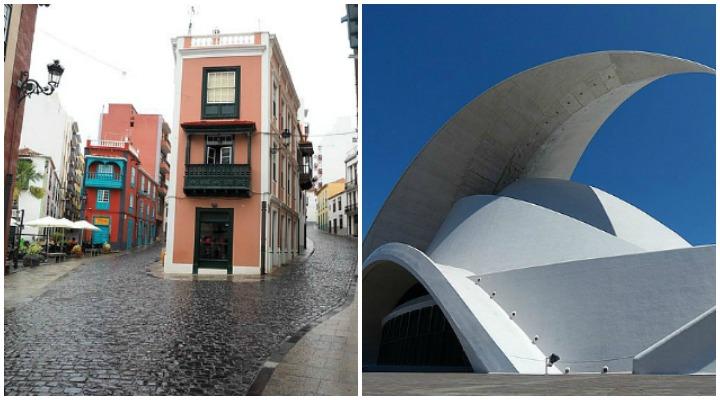 Santa Cruz de Tenerife Altstadt und Auditorio