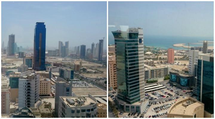 Blick vom Swiss Belhotel auf Manama