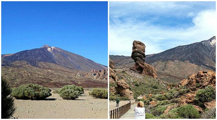 Pico del Teide und Roque Cinchado