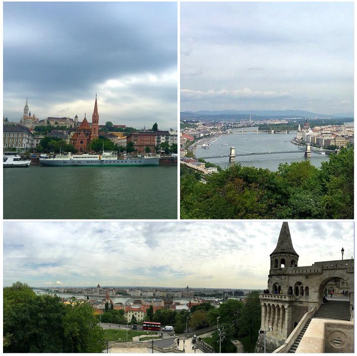Budapest von der Maxima aus