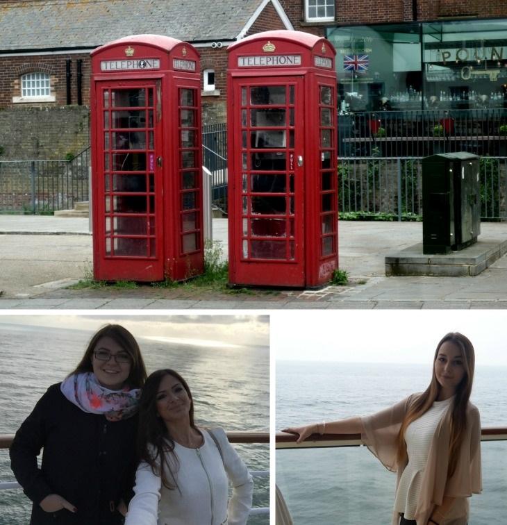 Hannelore, Aileen und Homaira - unterwegs mit AIDAsol