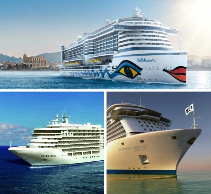 Neue Kreuzfahrtschiffe & Routen 2017