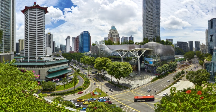 Orchard Road in Singapur
