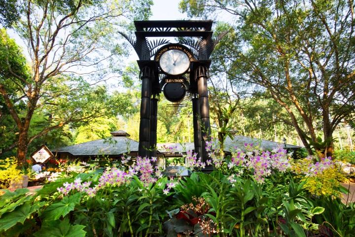 Singapur Botanic Gardens