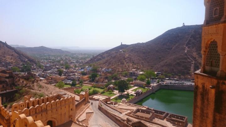 Blick über die Stadt Jaipur
