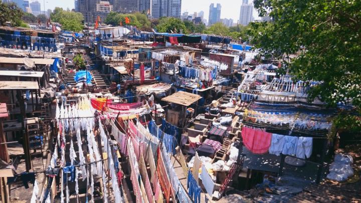 Wäscherei Dhobi Ghat
