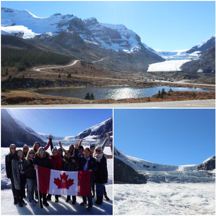 Gletscher im Jasper Nationalpark