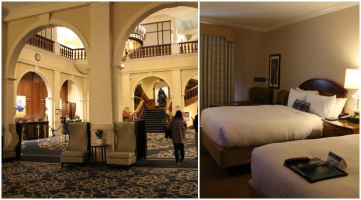 Räumlichkeiten des Hotels
