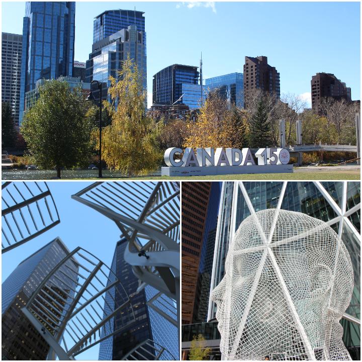 Modernes Stadtbild von Calgary
