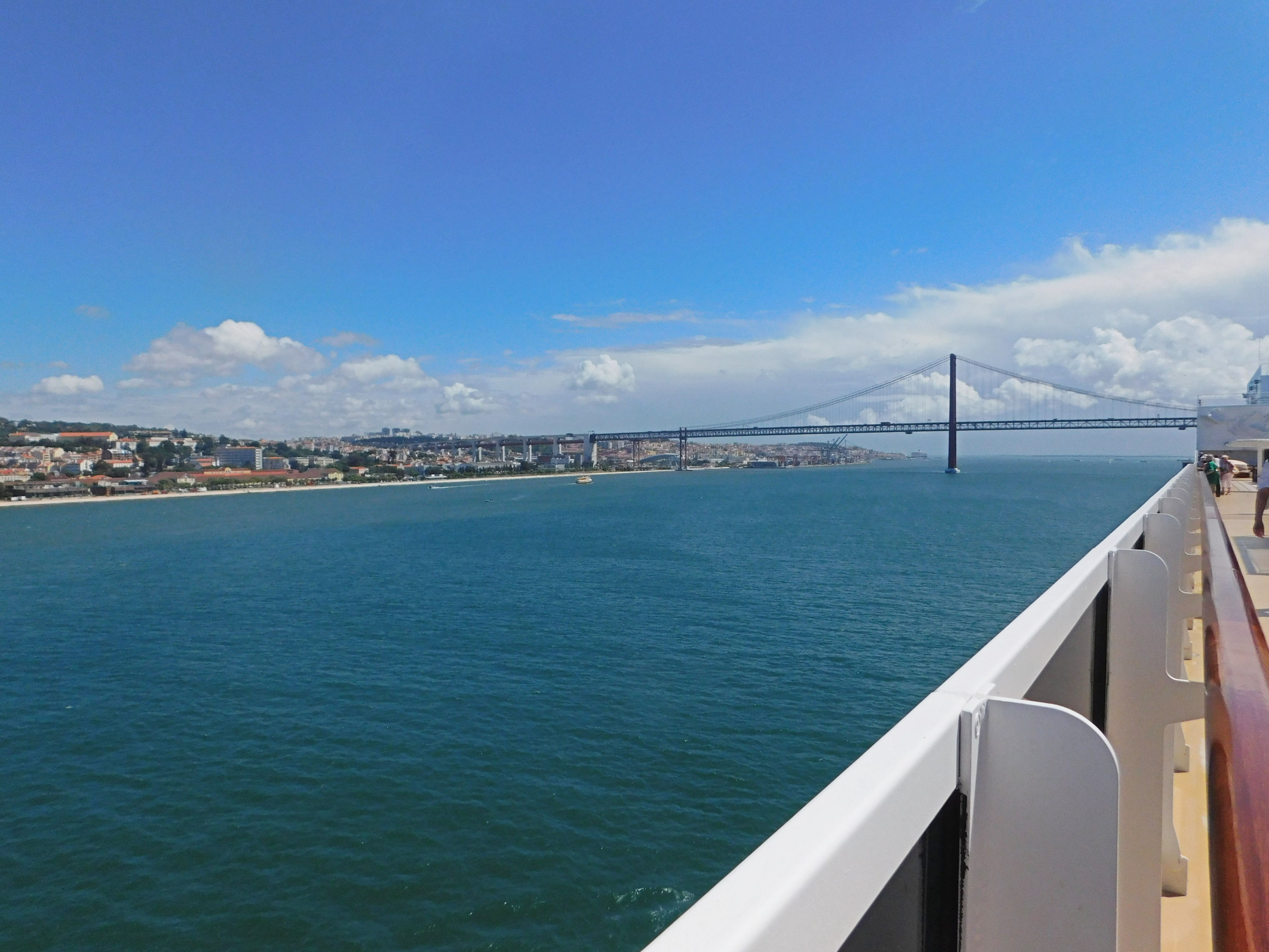 Lissabon Einfahrt