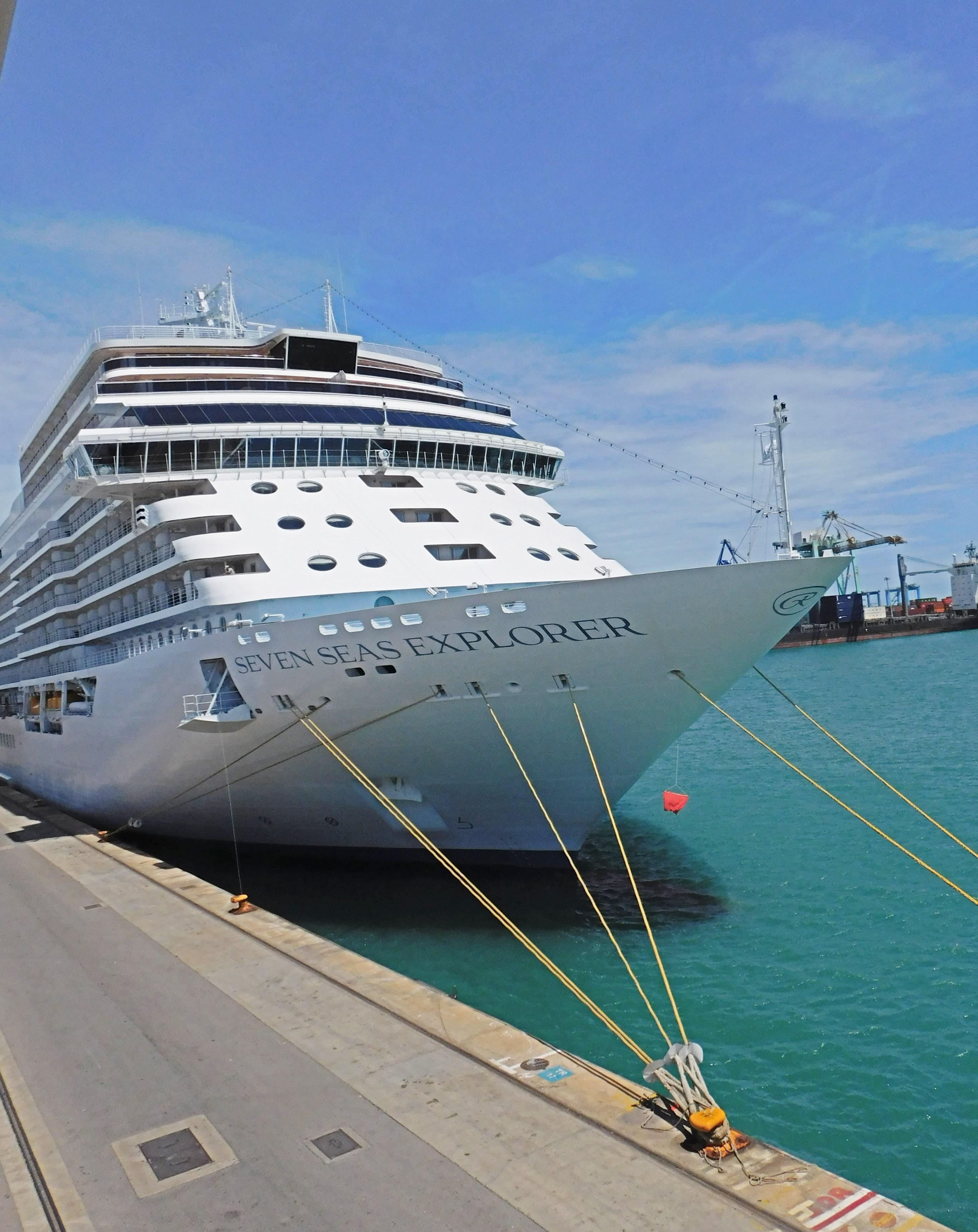Die Seven Seas Explorer - ein schönes Schiff!