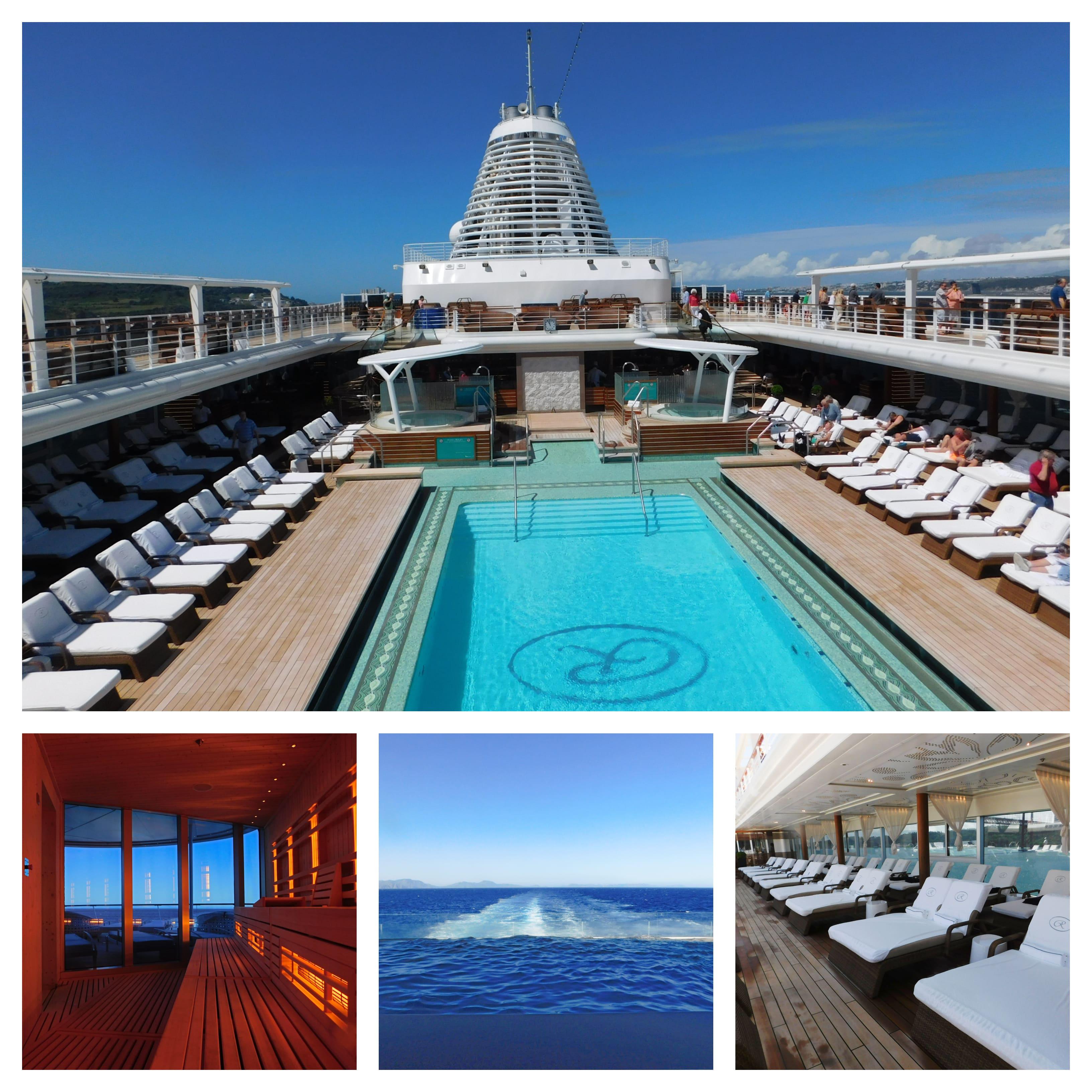 Pool und Spa auf Seven Seas Explorer