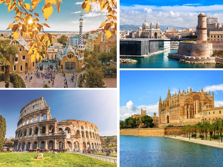 Kreuzfahrten, die ideale Reiseart, viele Städte in kurzer Zeit zu erkunden. Nicht zuletzt erfahren sie deshalb in den letzten Jahren einen wahren Boom, sind sie doch die perfekte Kombination aus Erholungsurlaub und Kulturreise. Dies bietet natürlich auch eine Seereise durch das Mittelmeer. Wir nehmen Sie heute mit zu den schönsten wie spannendsten Häfen und geben Ihnen einen Einblick in bekannte Metropolen und ihre Sehenswürdigkeiten.